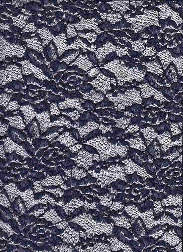 LACE-1130 / NAVY / 94% Nylon 6% Spandex