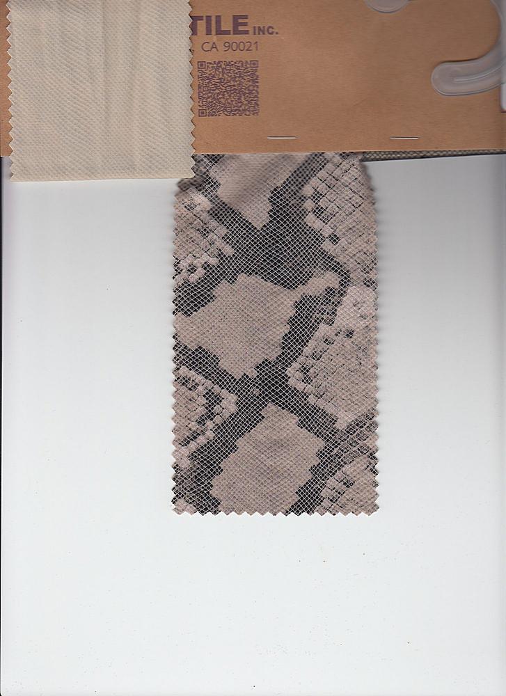 SP-2533 / MOCHA / 95% Poly 5% Spn Ground Polyurethane Surface Print