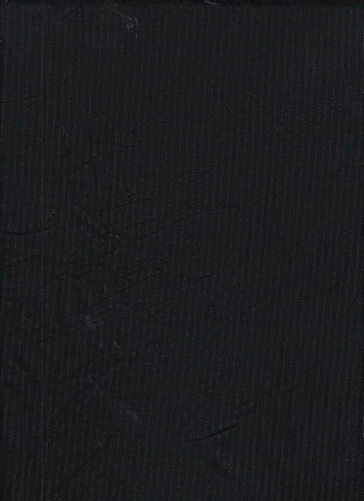 RIB-042 / BLACK / 95% Rayon 5% Spn Rib 4x2