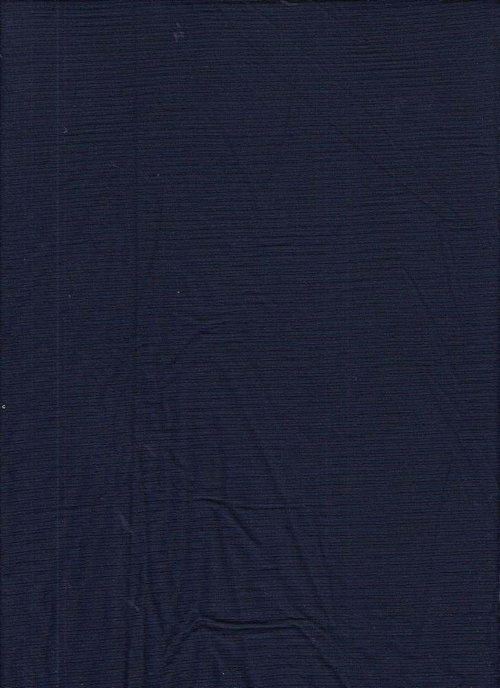 RIB-042 / NAVY / 95% Rayon 5% Spn Rib 4x2