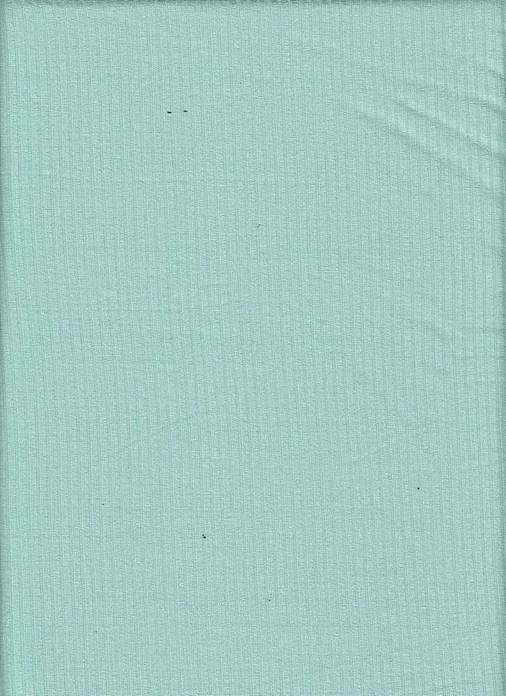 RIB-042 / MINT / 95% Rayon 5% Spn Rib 4x2