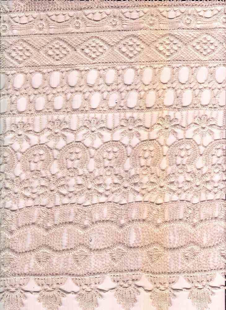 LACE-1142 / STONE / 100% Poly Chemichal Crochet