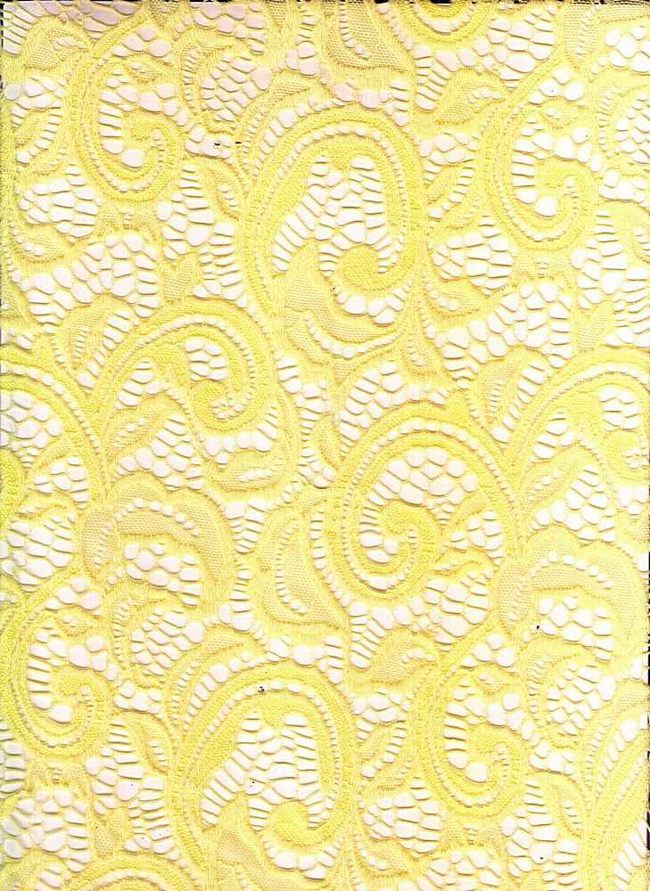LACE-1144 / LEMONADE / 90% Nylon 10% Spn