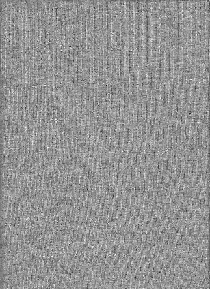 RIB-042 / H. GRAY / 95% Rayon 5% Spn Rib 4x2