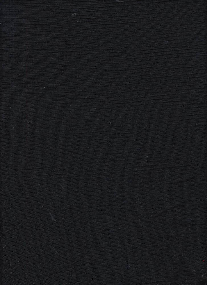 RIB 042 / BLACK / 95% Rayon 5% Spn 4X2 Rib