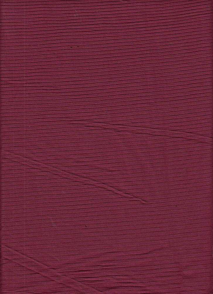 RIB-042 / GARNET / 95% Rayon 5% Spn Rib 4x2