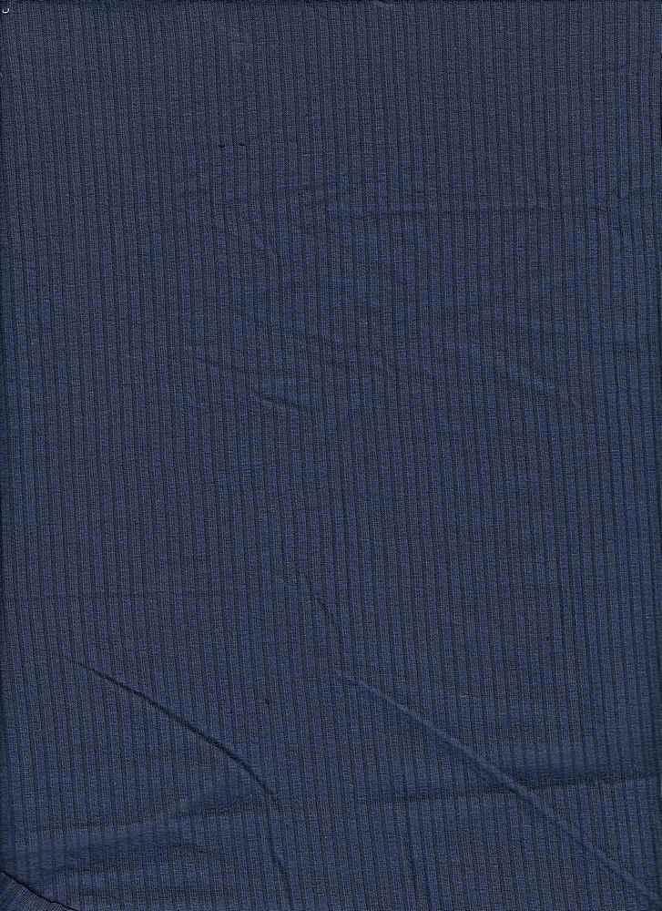RIB-042 / INDIGO DARK / 95% Rayon 5% Spn Rib 4x2