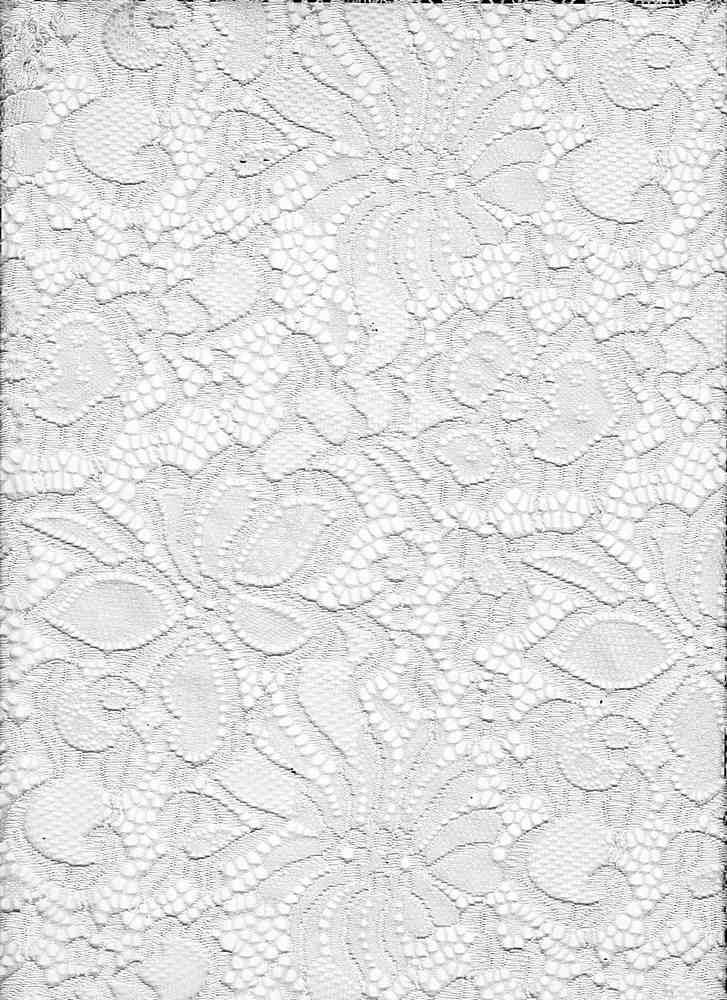LACE-1141 / DUSTY MINT / 90% Nylon 10% Spn Jacquard Lace