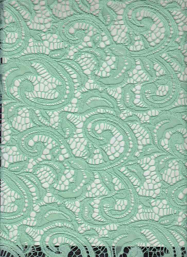 LACE-1144 / DUSTY MINT / 90% Nylon 10% Spn