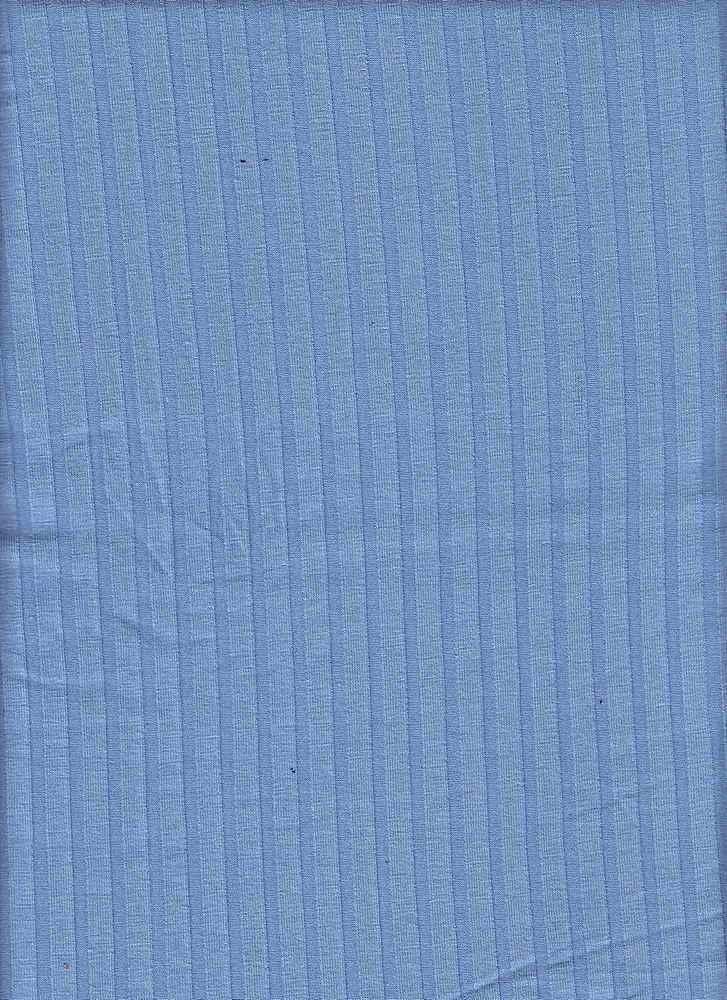 RIB-085 / INK BLUE / 95% Rayon 5% Spn 8x5 Rib