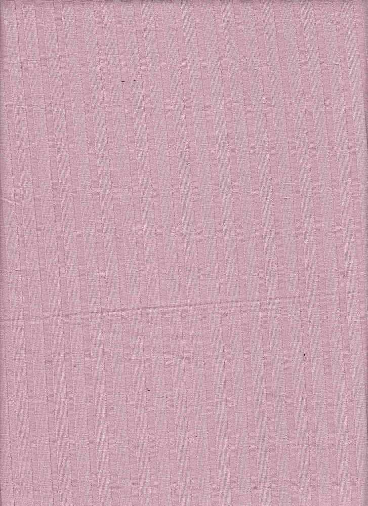 RIB-085 / BLUSH / 95% Rayon 5% Spn 8x5 Rib