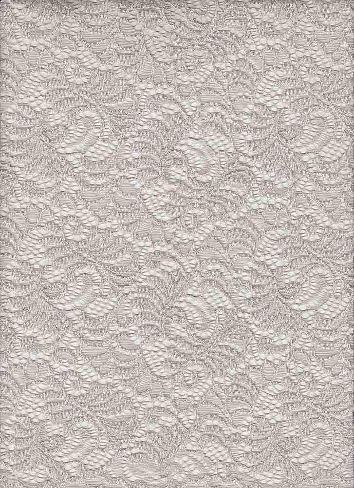 LACE-1146 / STONE / 95% Nylon 5% Spandex