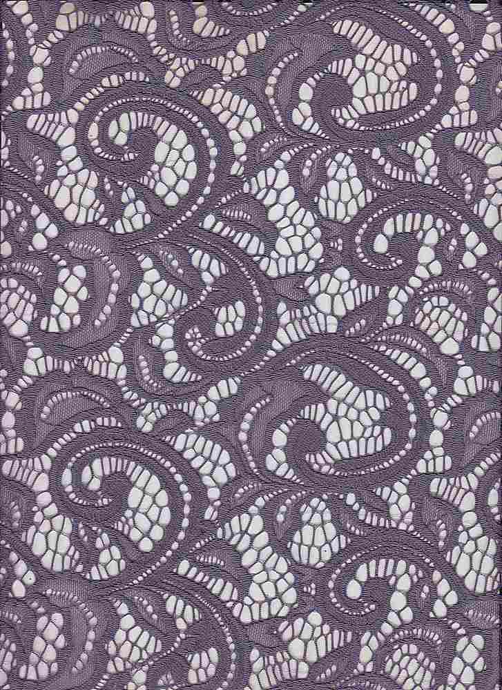 LACE-1144 / GRAPE / 90% Nylon 10% Spn
