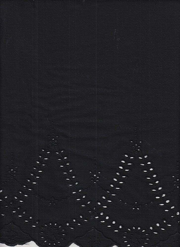 KSB-330 / BLACK / 100% Poly Embroidery
