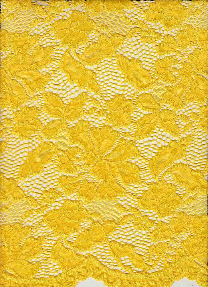 LACE-1153 / YELLOW CHROME / 90% Nylon 10% Spn