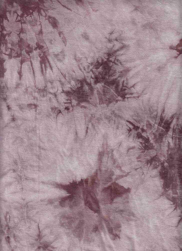 RNJ-2023 / MARSALA / 95% Rayon 5% Spn Tie Dye