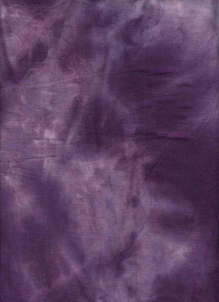 RNJ-2024 / PURPLE / 95% Rayon 5% Spn Tie Dye