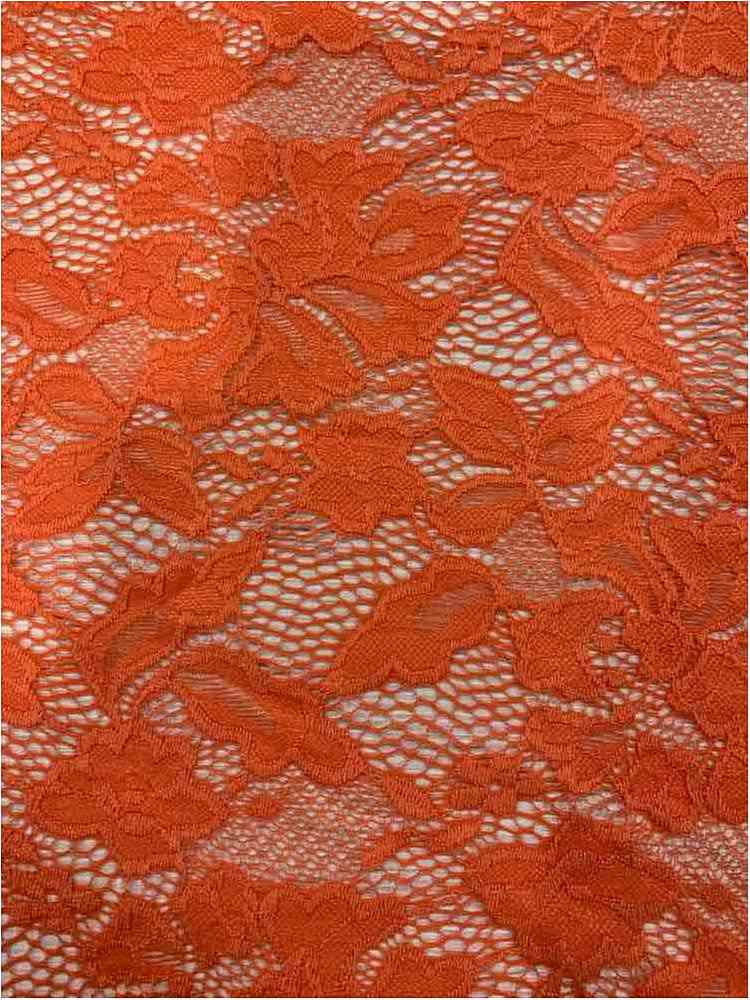 LACE-1153 / LIVING CORAL / 90% Nylon 10% Spn