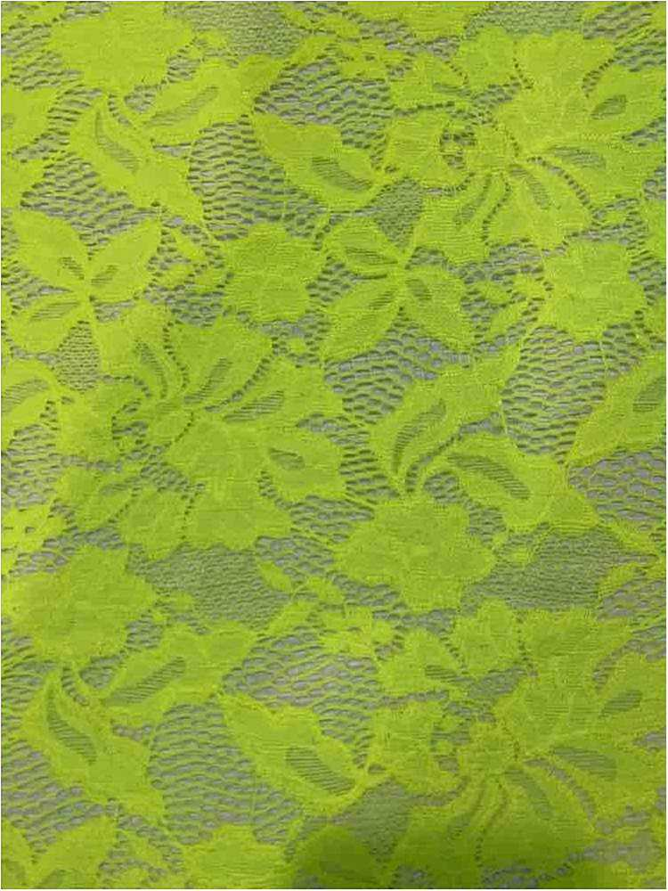 LACE-1153 / NEON GREEN / 90% Nylon 10% Spn