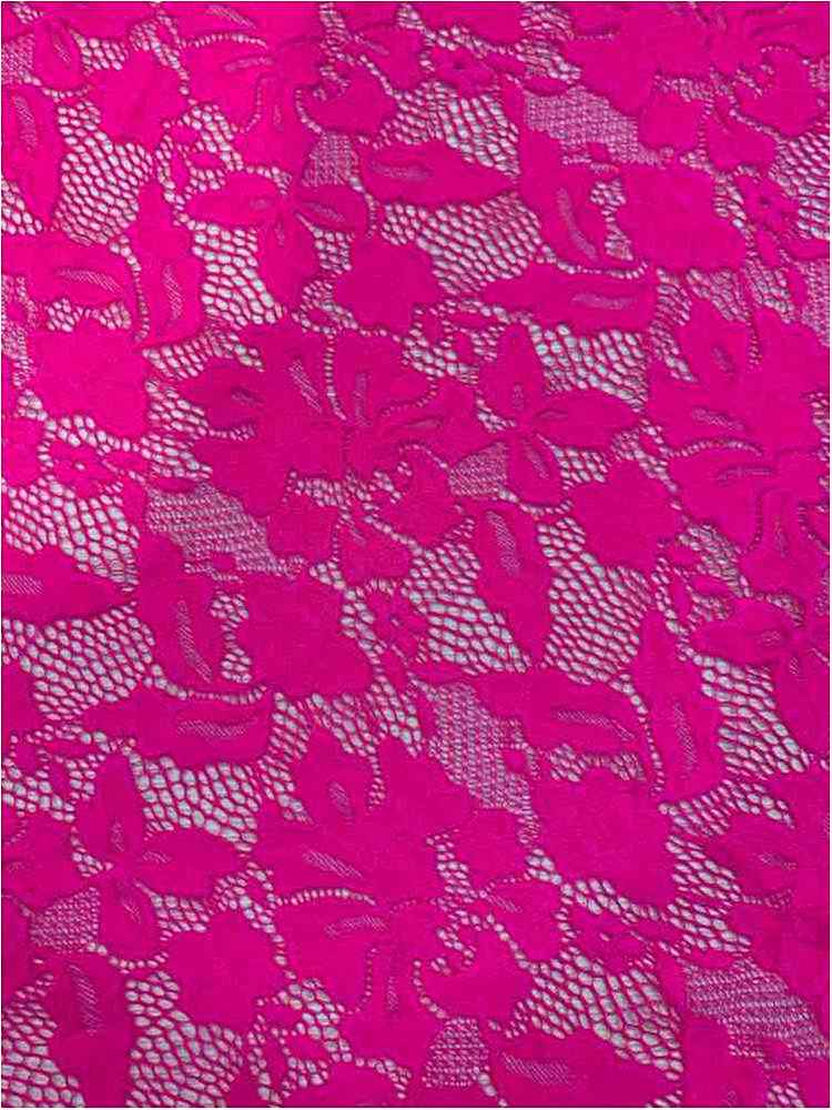 LACE-1153 / NEON PINK / 90% Nylon 10% Spn