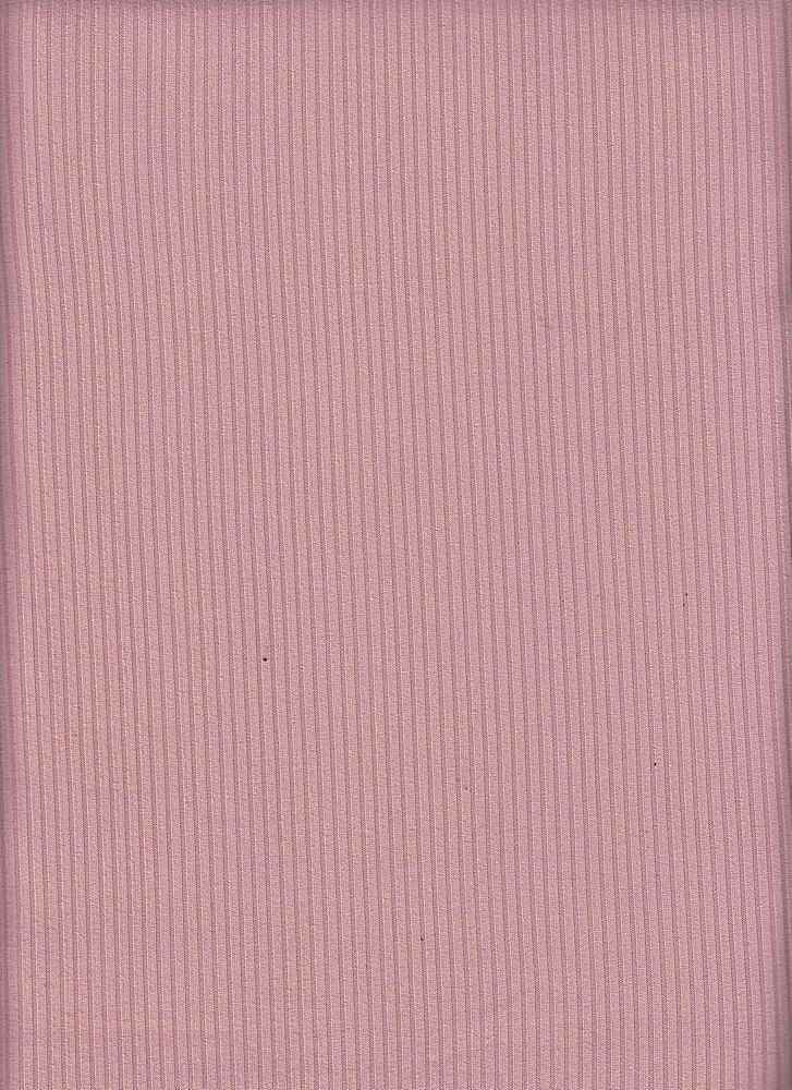 SP-2601 / MAUVE / 93%Poly 7%Span Brushed Dty 4X2 Rib