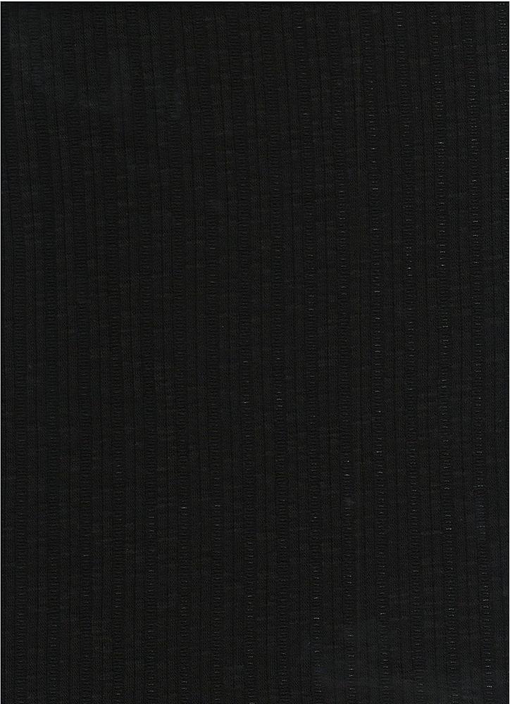 PC-3105 / BLACK / 60% Poly 35% Cotton 5% Spn Jaquard Rib