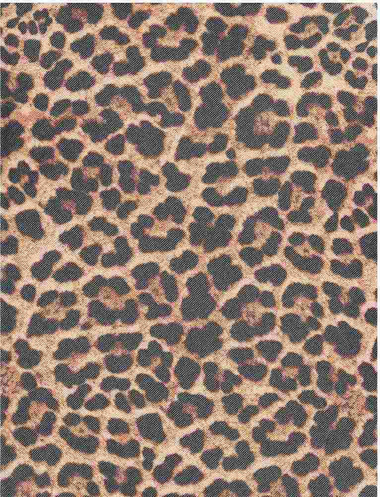CTP-1016 MESH / TAUPE / 95% Poly 5%Span Leopard Mesh