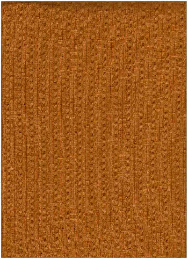 PC-3105 / MUSTARD / 60% Poly 35% Cotton 5% Spn Jaquard Rib