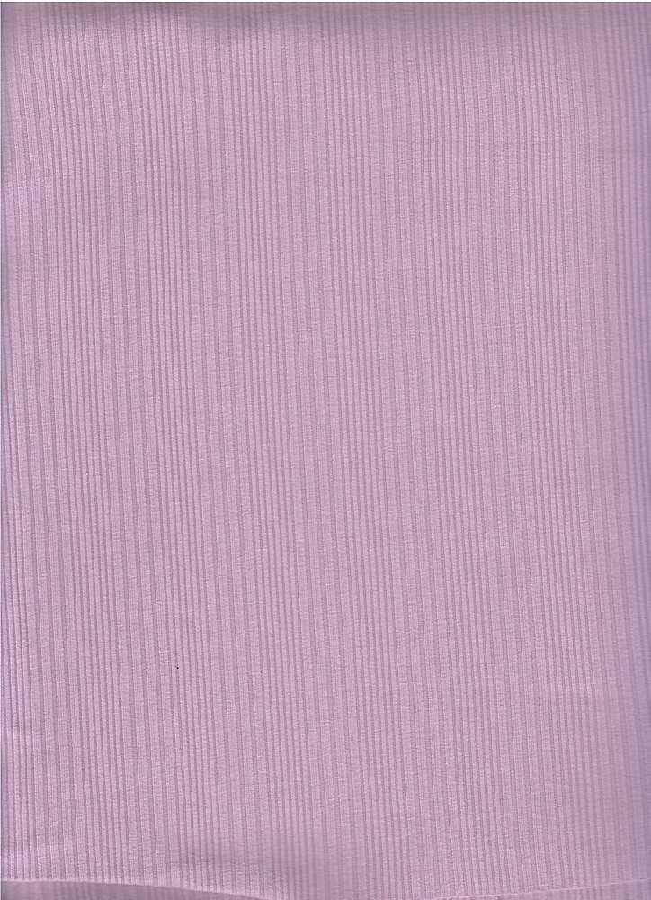 PC-3106 / LILAC / 93% Cotton 7% Span Varigated Rib