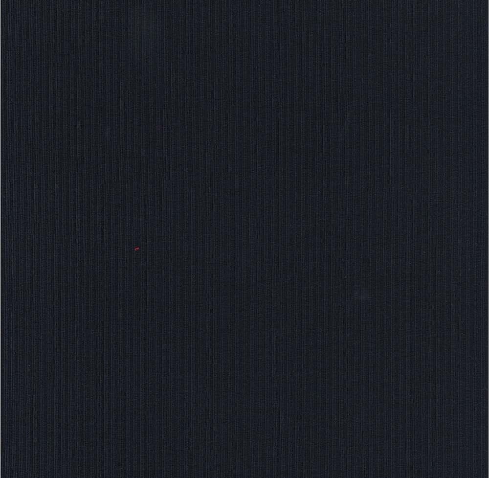 RIB-1860 / NAVY / 81%Poly 10%Rayon 9%Span 4X2 Heavy Rib 360 GSM