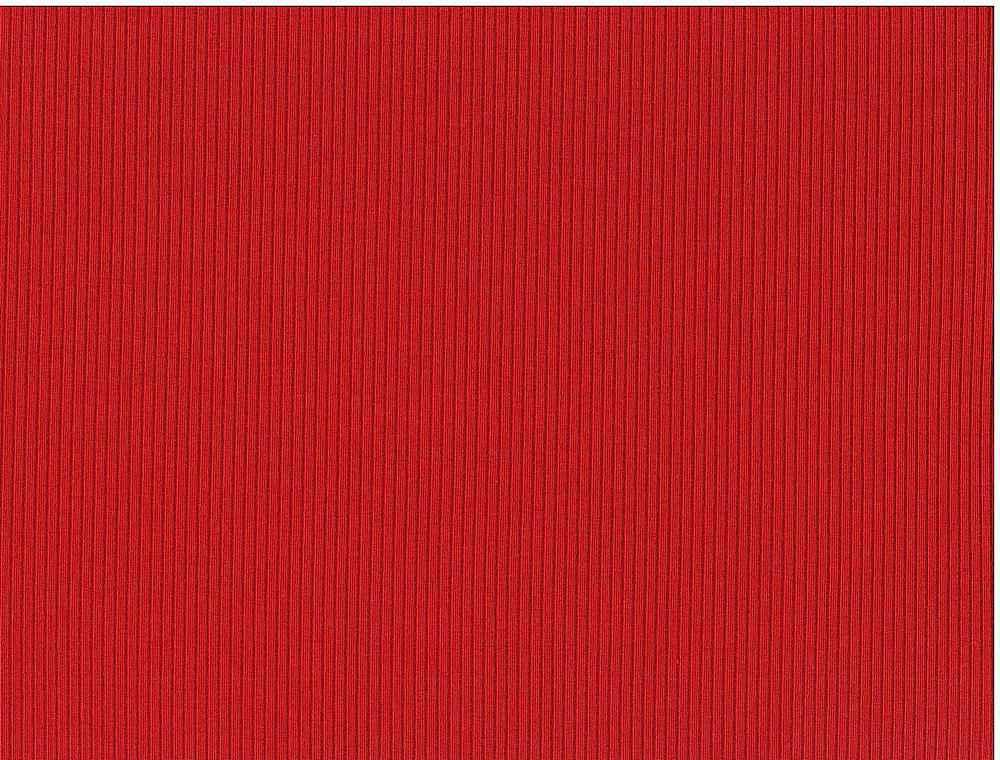 RIB-1860 / RED / 81%Poly 10%Rayon 9%Span 4X2 Heavy Rib 360 GSM