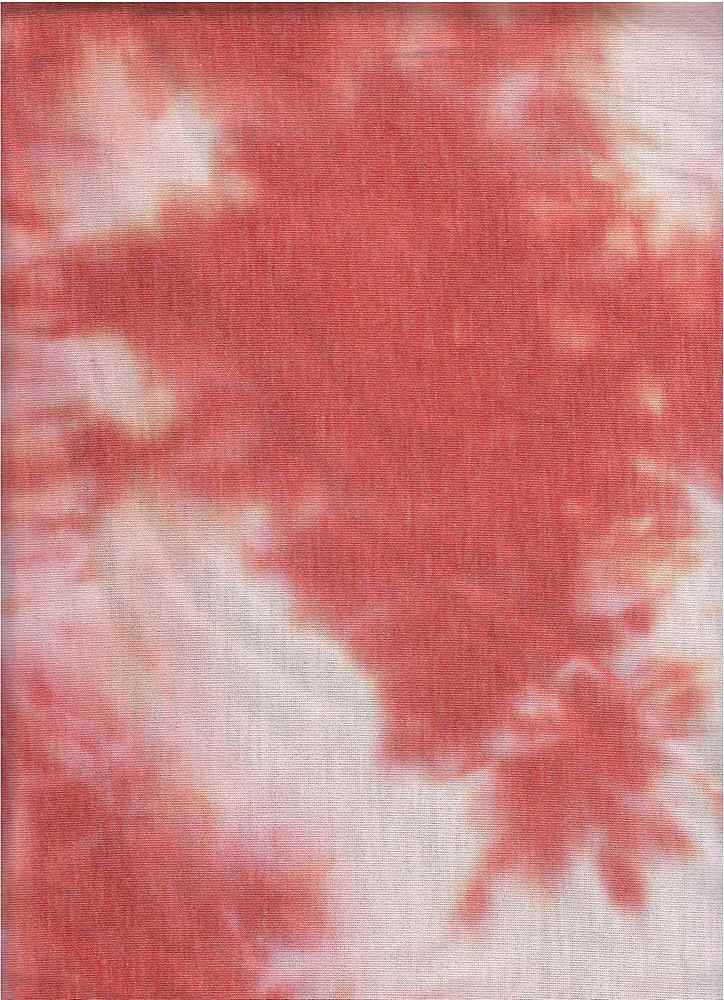TDFT-1064 / MAUVE / 70% Poly 26%Rayon 4%Spn French Terry Tie Dye