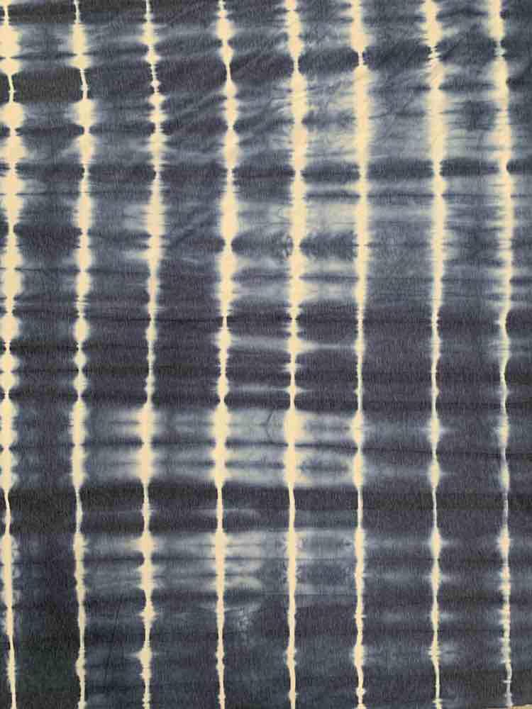 CTD-1064 FT / DENIM / 70% Poly 26%Rayon 4%Spn French Terry Tie Dye