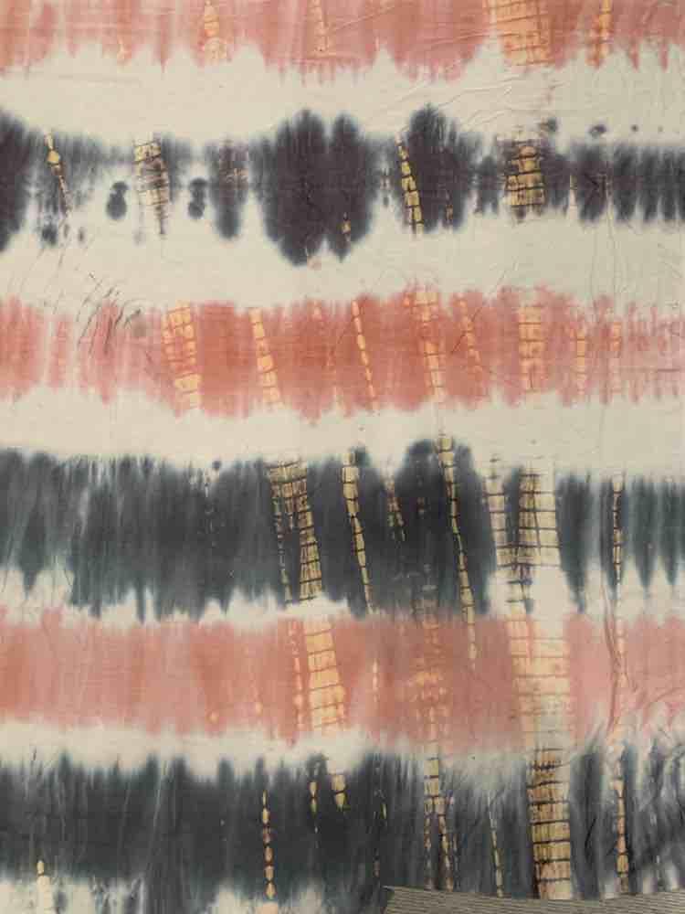 TDR-1053 / MAUVE/MOCHA / 95% Rayon 5% Spn Tye Dye Multi Colors