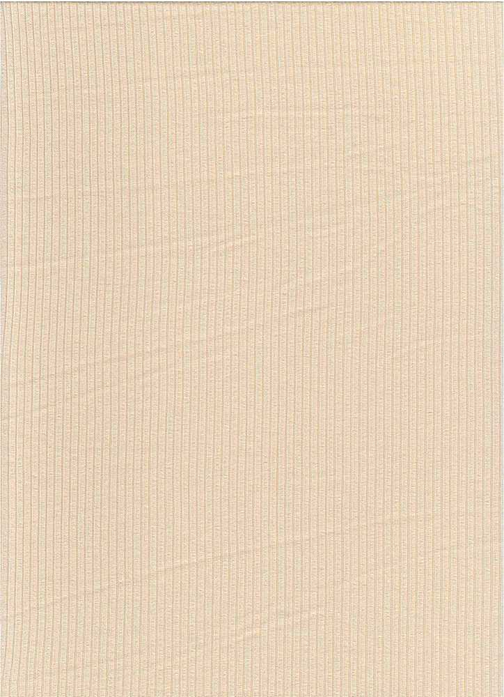 SP-2601 / CREAM / 93%Poly 7%Span Brushed Dty 4X2 Rib