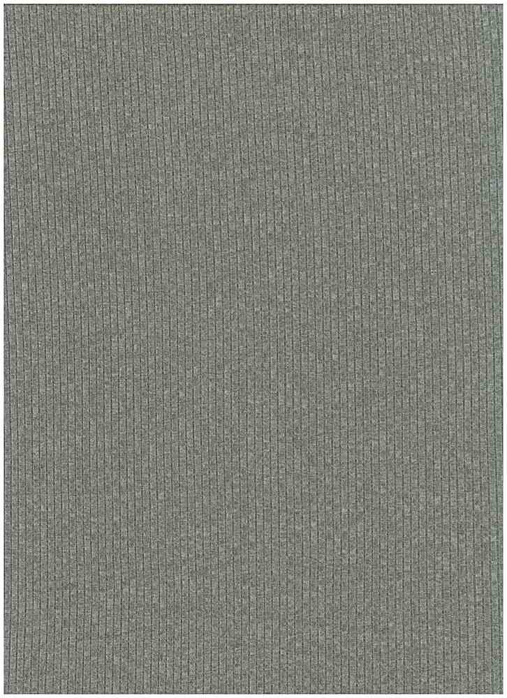 SP-2601 / H. GRAY / 93%Poly 7%Span Brushed Dty 4X2 Rib
