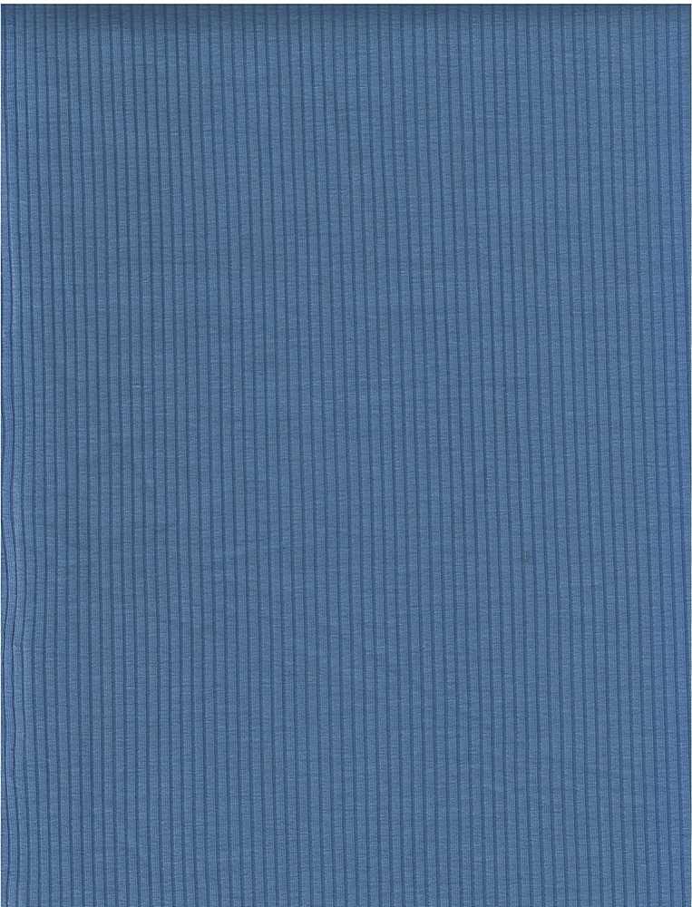 RIB-1863 BLUE SOLID RIB STRIPE