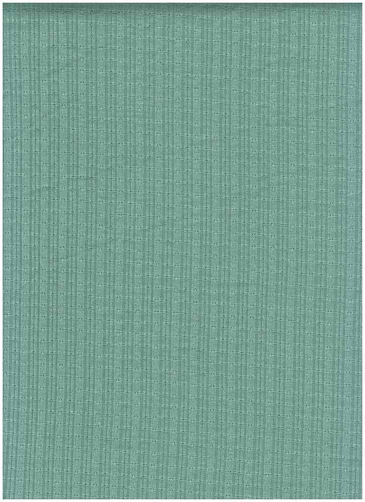 PR-1861 / MIST GREEN / 65% Poly 28% Rayon 7% Spn Jaquard Knit