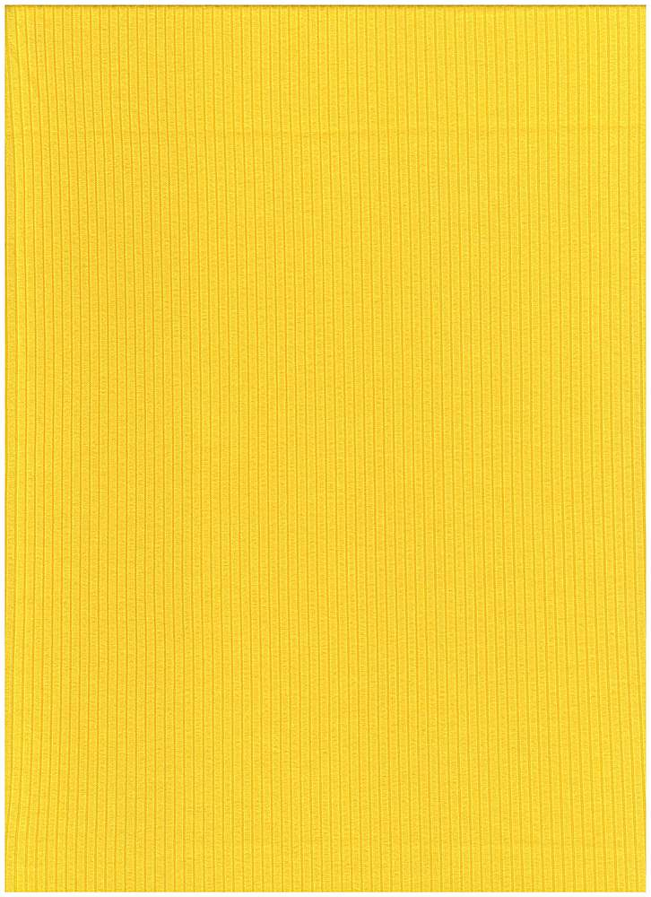 SP-2601 / YELLOW / 93%Poly 7%Span Brushed Dty 4X2 Rib