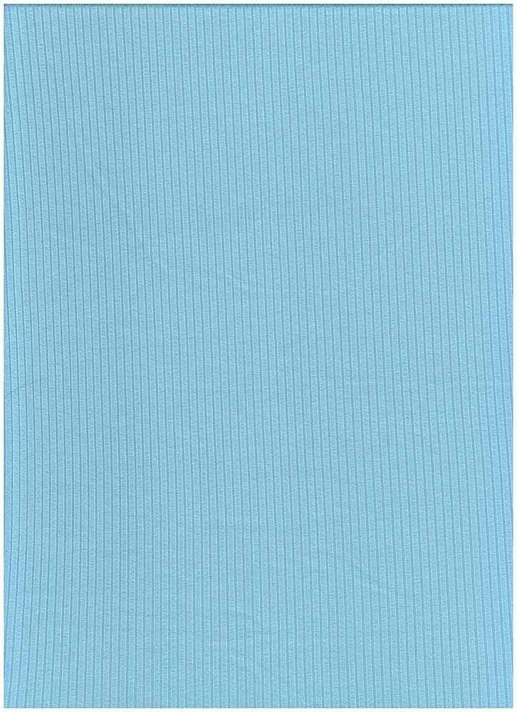 SP-2601 / SKY BLUE / 93%Poly 7%Span Brushed Dty 4X2 Rib