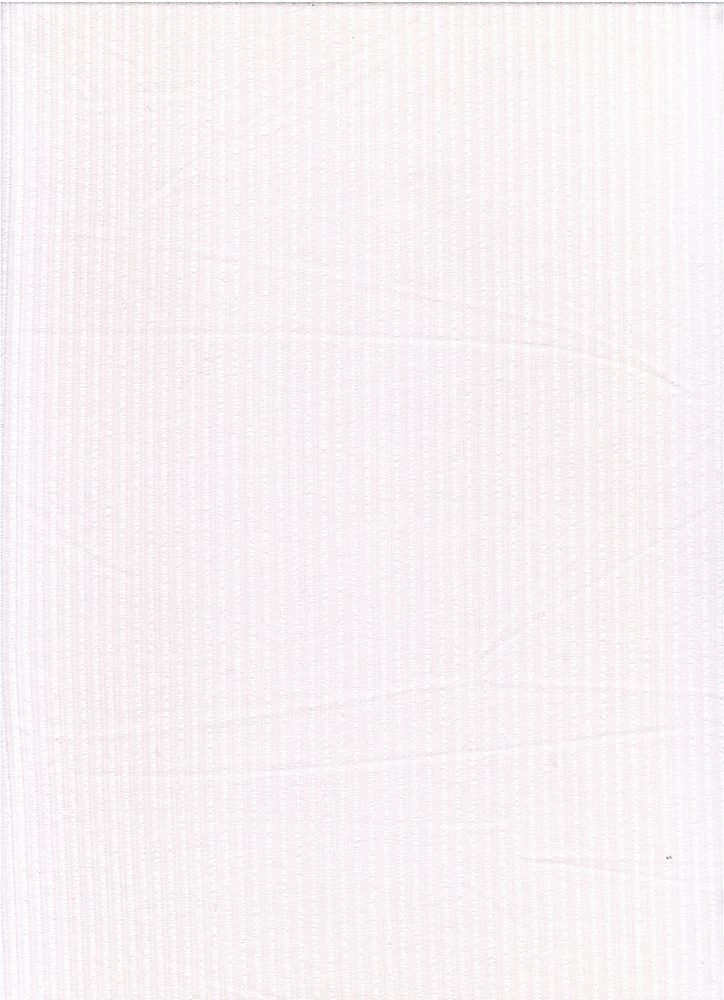 SP-2601 / WHITE / 93%Poly 7%Span Brushed Dty 4X2 Rib