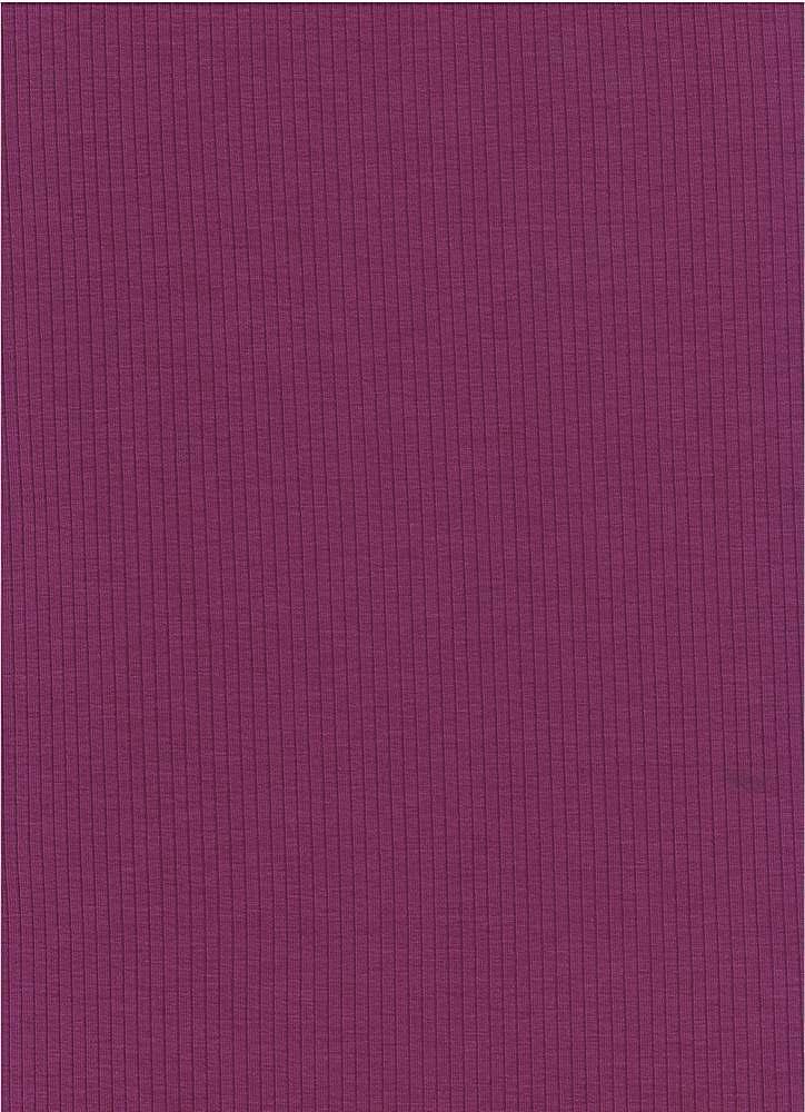RIB-1863 PURPLE SOLID RIB STRIPE